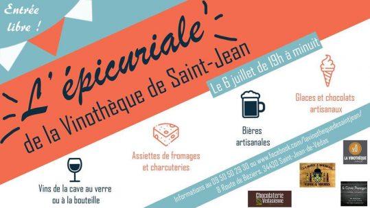 Epicuriales vinothèque saint jean de védas