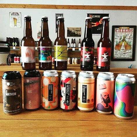 Bières du monde artisanales - La boîte à Houblon cave à bières