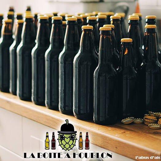 Atelier brassage de bière La boite à houblon Hérault 34